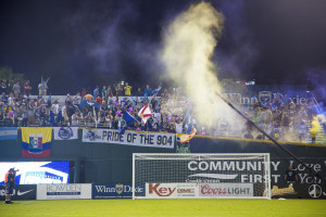Jacksonville's Section 904 (Photo: Jacksonville Armada FC)