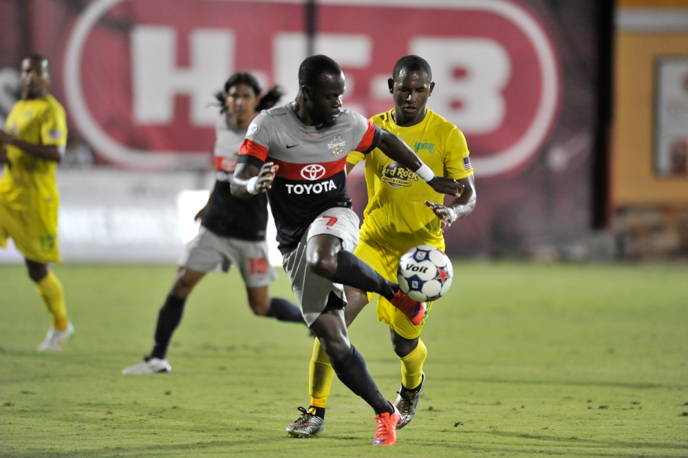 Billy Forbes shows some skill (Photo: San Antonio Scorpions)