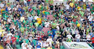 Fans in Tampa Bay (Photo by Matt May/Tampa Bay Rowdies)
