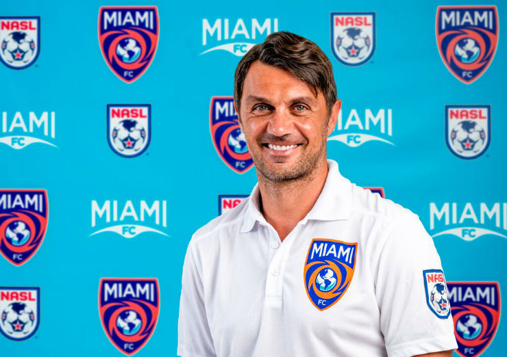 Miami FC co-owner Paolo Maldini (Photo: Miami FC)