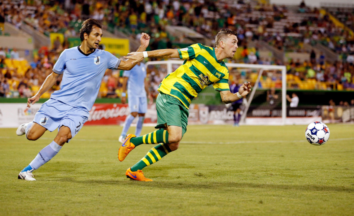 The teams last faced each other on August 22nd. (Photo: Tampa Bay Rowdies)