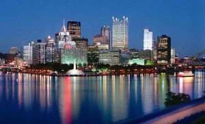 The Pittsburgh skyline :)