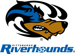 The Riverhounds crest doesn't fit in with the sharper logos of newer USL squads