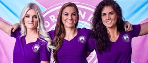 Orlando Pride became the Tenth team to play in the NWSL. Photo courtesy of orlandocitysc