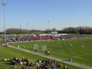 Uihlein Soccer Park is a 7000 seat soccer-specific stadium in Milwaukee