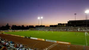 Myers Stadium at UT is an option the Aztex found too expensive