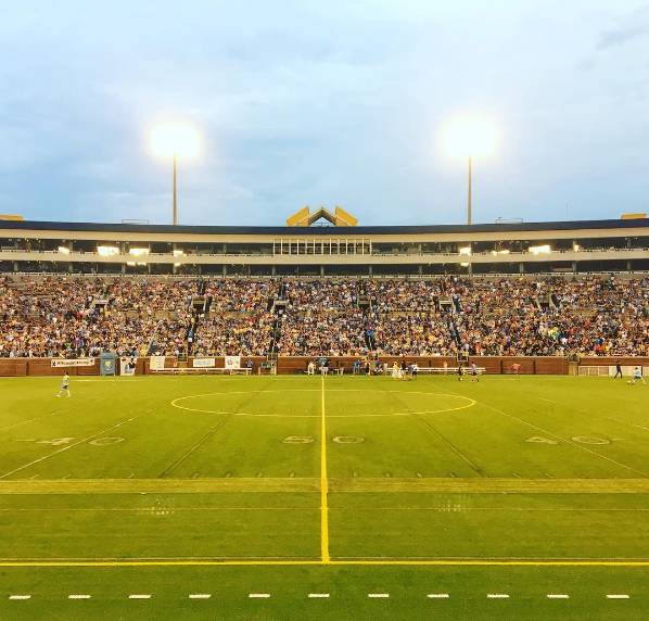 Chattanooga FC has drawn over 10,000 fans on multiple occassions