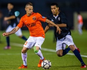 Former LA Galaxy midfielder Paolo Cardozo now plays for the L.A. Wolves (UPSL)